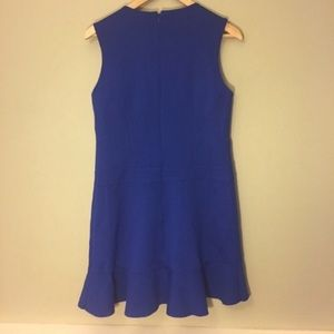 Betsey Johnson Dresses - Betsey Johnson Royal Blue Ruffle Dress NWOT